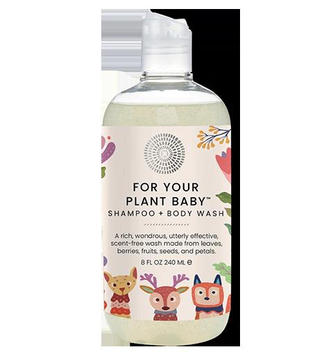 Bild von HAIRPRINT Plant Baby Shampoo + Body Wash