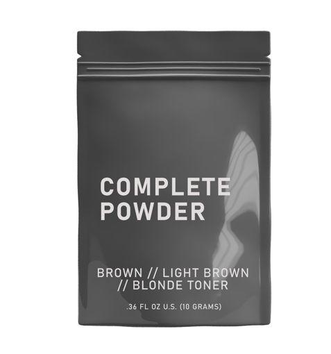 Bild von HAIRPRINT True Color Restorer | Component (Step-5): Complete Powder (Brown/Light Brown)