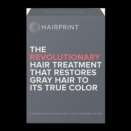 HAIRPRINT Re-pigment Color Restorer for Men   Kit-2: BROWN